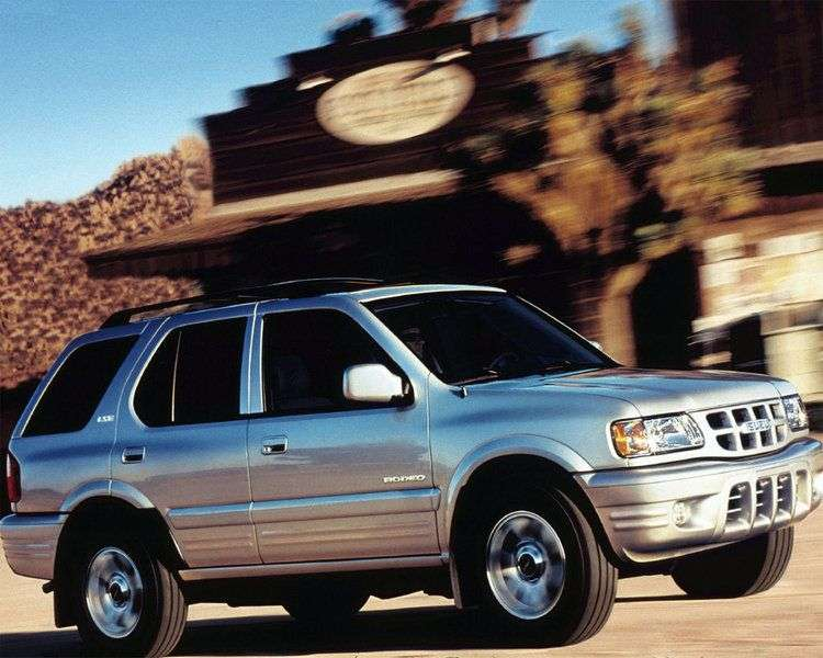 Isuzu Rodeo 1st generation SUV 5 doors 2.2 MT (1998 – n. In.)