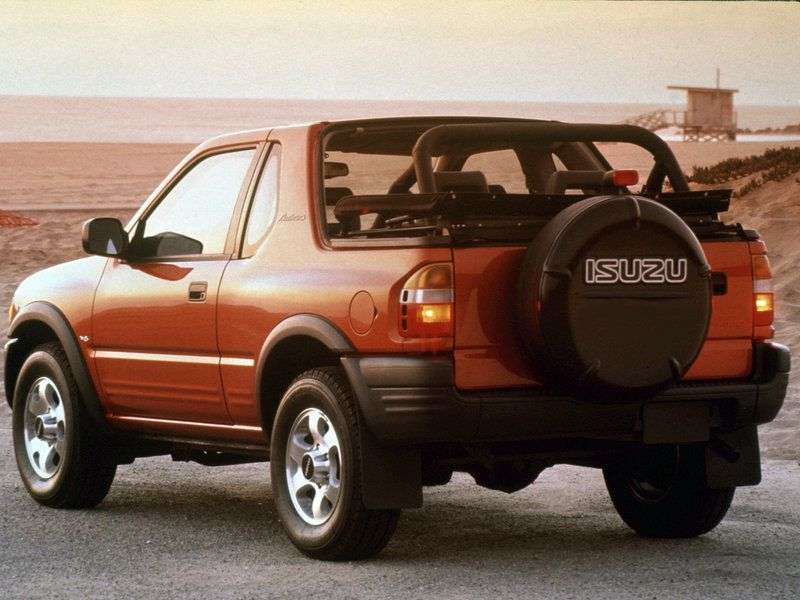 Isuzu Rodeo 1st generation SUV 3 dv. 2.2 MT (1998 – n. In.)