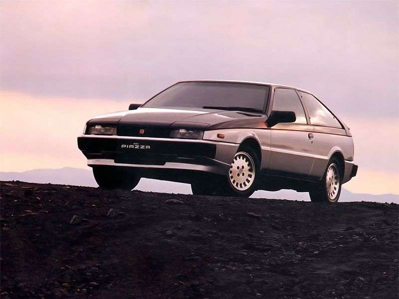 Isuzu Piazza 1st generation hatchback 2.0 MT (1987–1991)