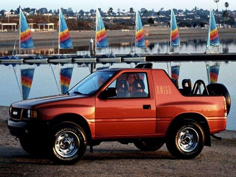 Isuzu Amigo 1st generation 2.6 MT AWD XS SUV (1989–1994)