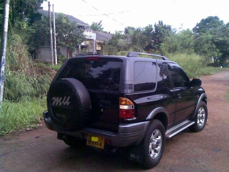 Isuzu MU 2nd generation SUV 3.0 TD AT AWD (1998–2002)