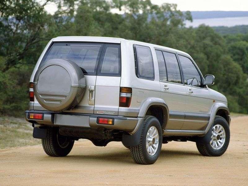 Isuzu Bighorn 1st generation SUV 2.8 TD MT (1987–1991)