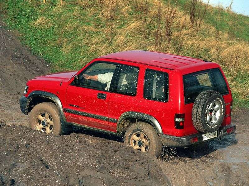 Isuzu Trooper 2nd generation SUV 3 dv. 3.5 MT 4WD (1998–2002)