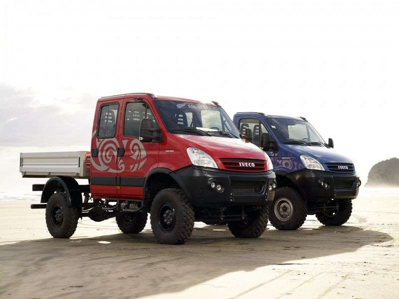 IVECO Daily 4 generation 4x4 board 4 dv. 3.0 D MT 4x4 (55S17DW) (2011 – current century)