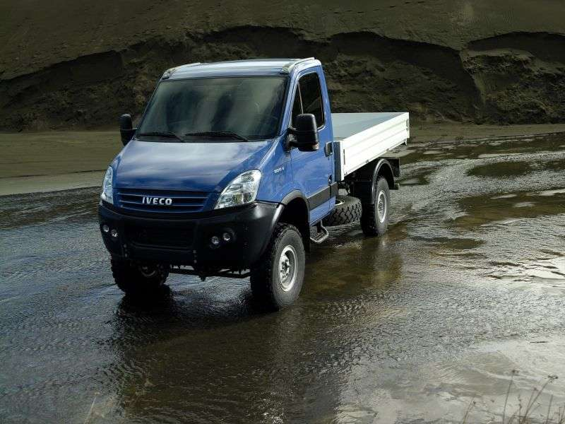IVECO Daily 4 generation 4x4 board 3.0 D MT 4x4 L1 (35S17W) (2011 – n.)