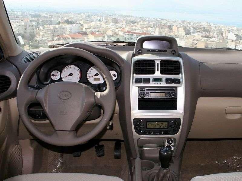 JAC Rein 1st generation 2.4 MT AWD crossover (2007 – present)