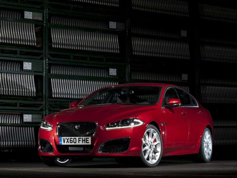 Jaguar XF X250 [restyling] XFR sedan 4 doors. 5.0 AT XFR (2011 – current year.)