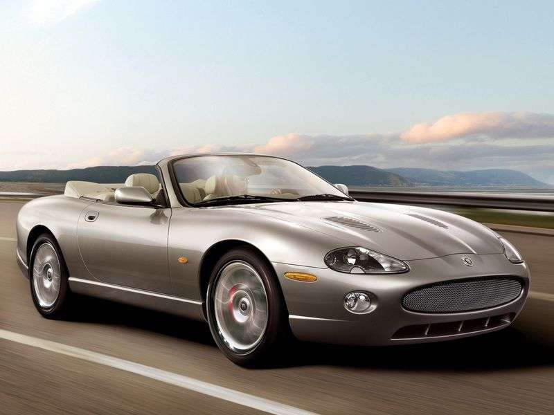 Jaguar XK X100 2nd restyling XKR Convertible 4.2 AT (2004-2006)