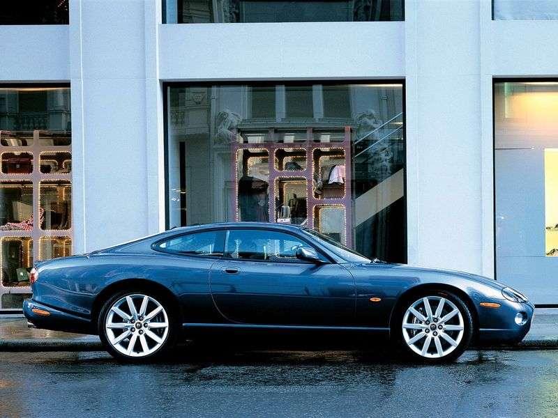 Jaguar XK X100 [2nd restyling] XKR coupe 4.2 MT (2004–2006)