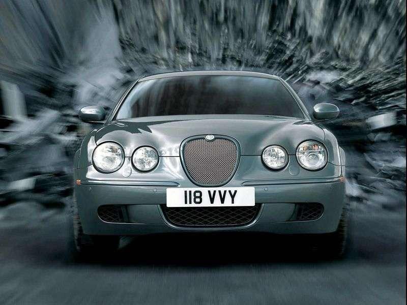 Jaguar S Type 1 generacji [zmiana stylizacji] R sedan 4.2 AT (2004 2008)
