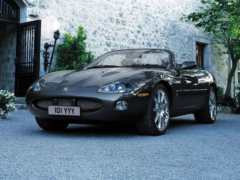 Jaguar XK X100 Restyled XKR Convertible 4.2 AT (2002-2004) ️ | Automobile specification