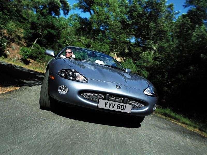 Jaguar XK X100 Restyled XKR Convertible 4.2 AT (2002 ...