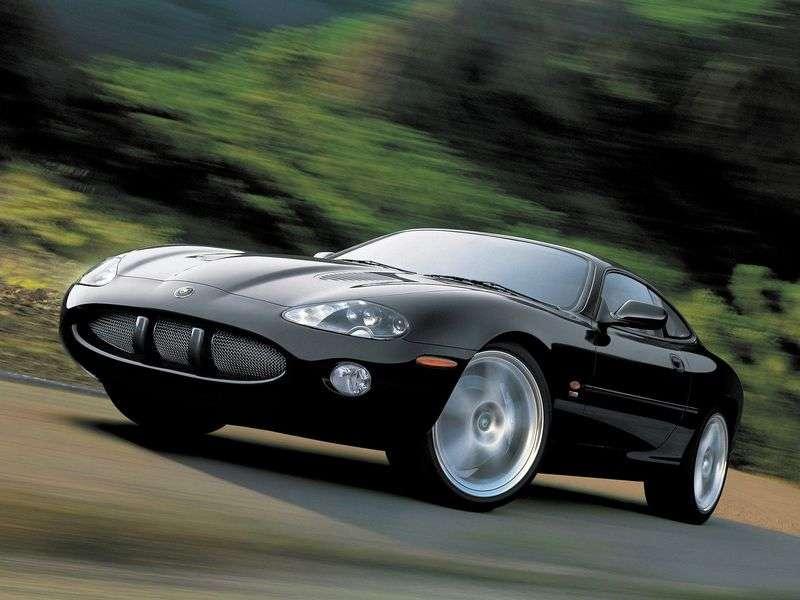 Jaguar XK X100 [Restyled] XKR Coupe 4.2 MT (2002–2004)