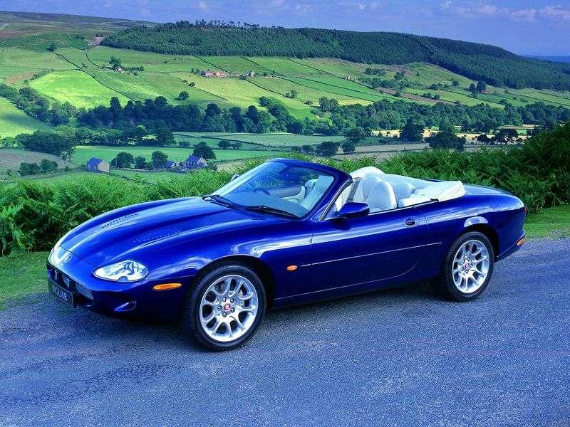 Jaguar XK X100XKR AT 4.0 Cabriolet (1998–2002)