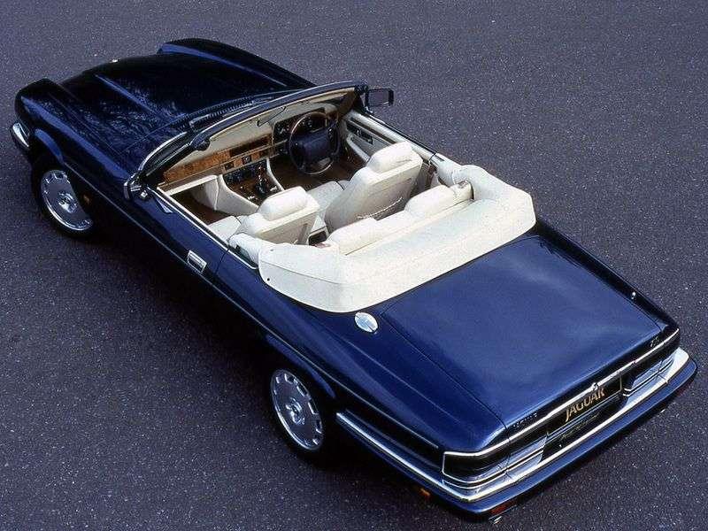 Jaguar XJS 2nd generation convertible 4.0 MT (1994–1996)