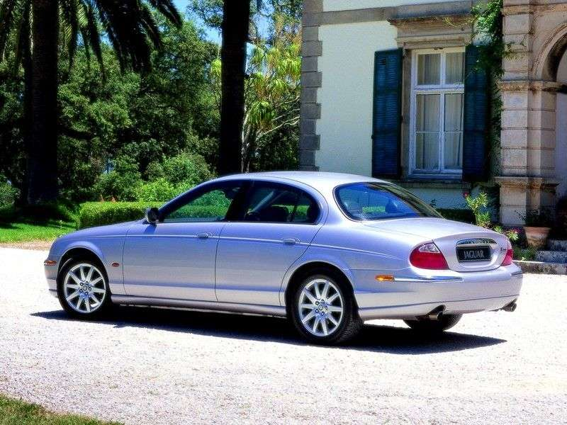 Jaguar S Type 1st generation sedan 4.0 AT (1999–2002)