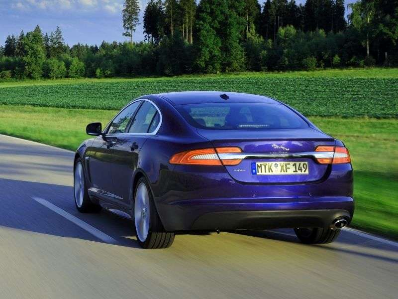 Jaguar XF X250 [restyling] 4 door sedan 3.0 AT Premium Luxury (2012 – n. In.)