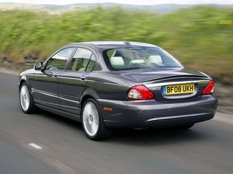 Jaguar X Type 1st generation [restyling] 2.5 MT sedan (2008–2009)