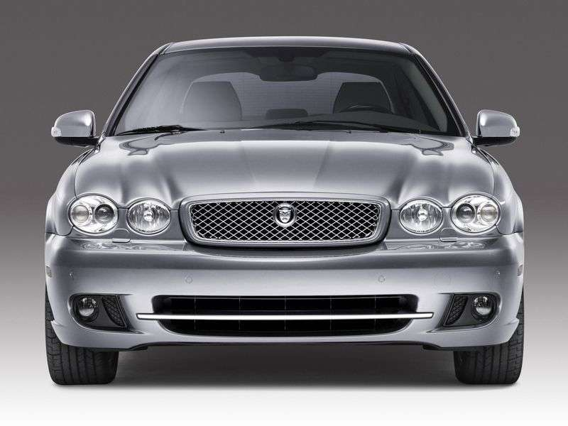 Jaguar X Type 1st generation [restyling] sedan 2.0 D MT (2008–2009)