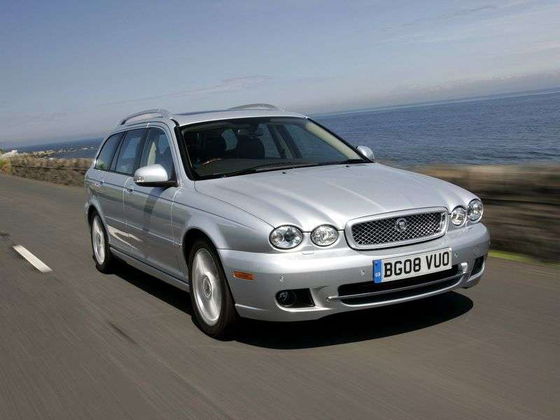 Jaguar X Type 1st generation [restyling] wagon 2.1 MT (2008–2009)