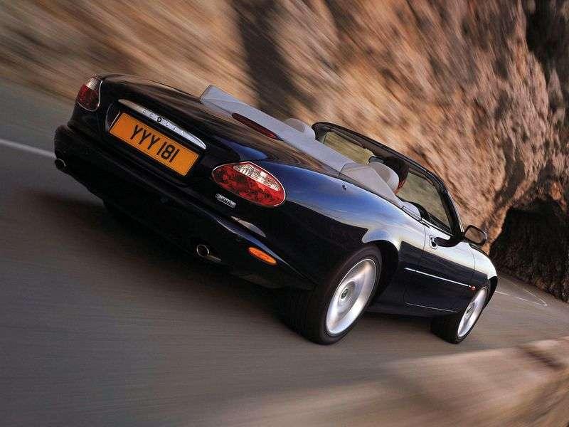 Jaguar XK X100 [Restyled] XK8 Convertible 4.2 AT (2002–2004)