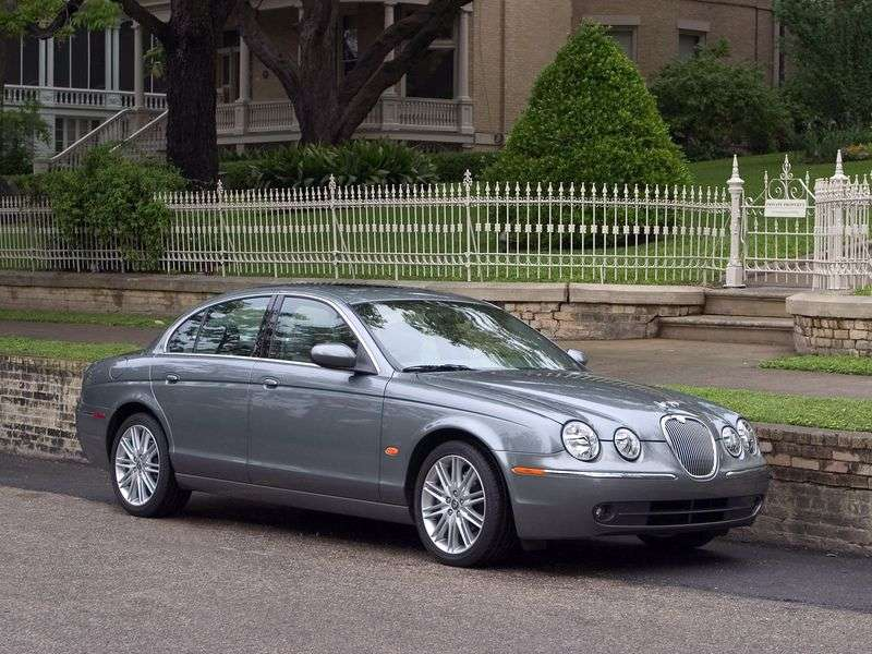 Jaguar S Type 1st generation [restyling] 3.0 AT saloon (2004–2008)