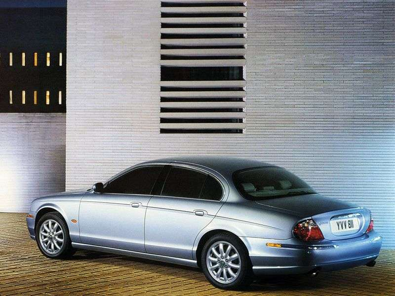 Jaguar S Type 1st generation [restyling] 3.0 MT sedan (2004–2008)