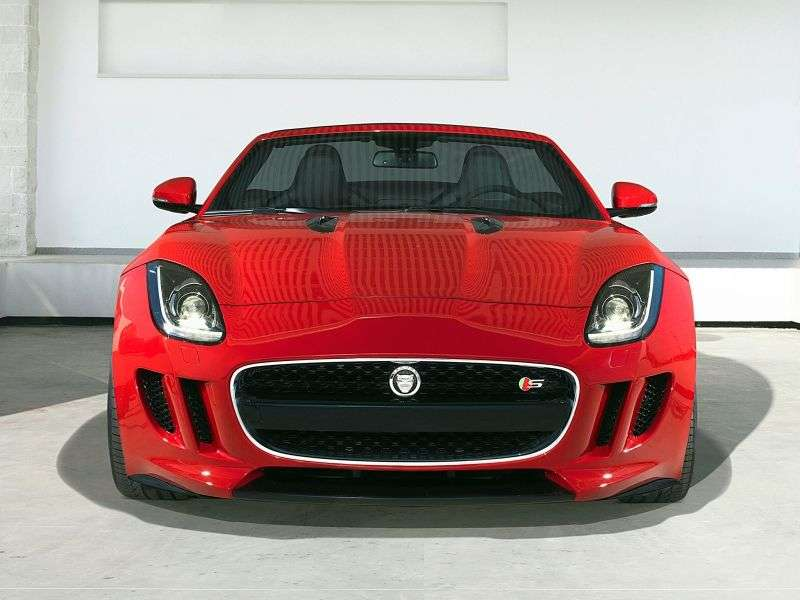 Jaguar F Type 1st generation Roadster S 5.0 V8 AT Basic (2013 – n.)