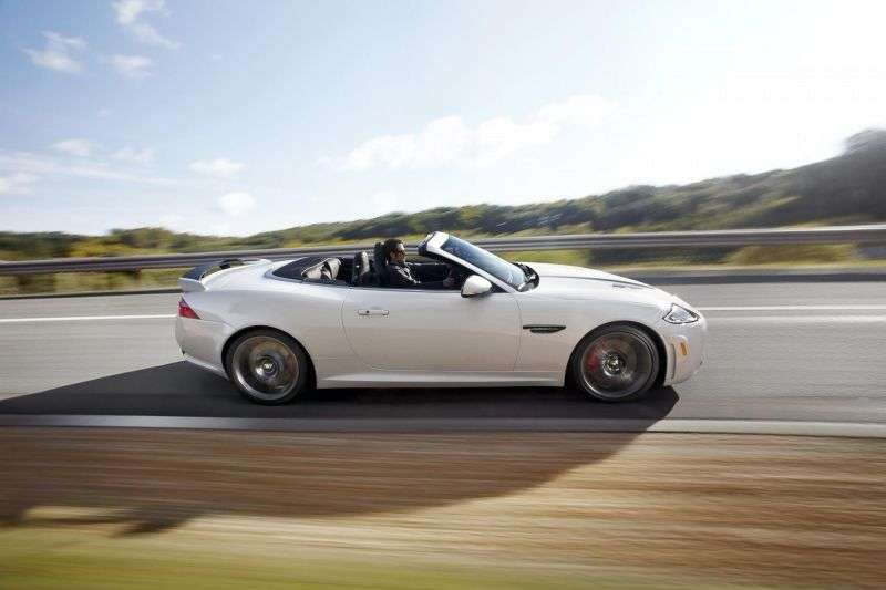 Jaguar XK X150 [restyling] XKR S 2 door convertible. 5.0 AT XKR S (2011 – current century)