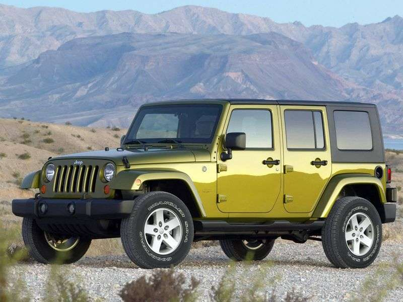 Jeep Wrangler JK 4 dv cabriolet 2.8 CRD AT Rubicon (2006–2011)