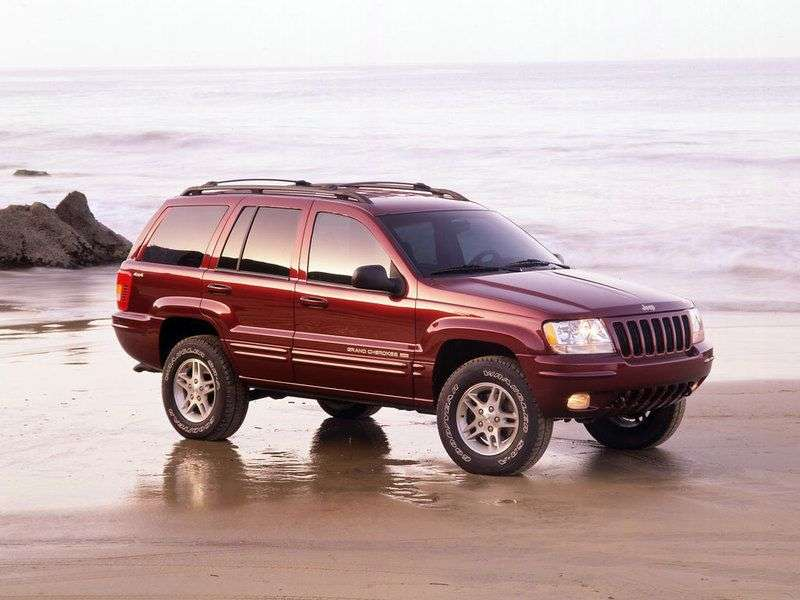 Jeep Grand Cherokee WJ 3.1 SUV AT TD (1999–2002)