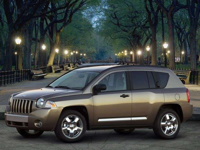 Jeep Compass 1st generation crossover 2.0 D MT (2006–2010)