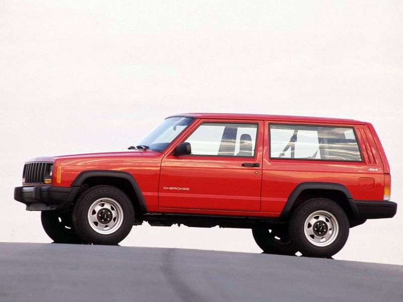 Jeep Cherokee XJ off road 3 dv. 4.0 MT Country (1993–1999)