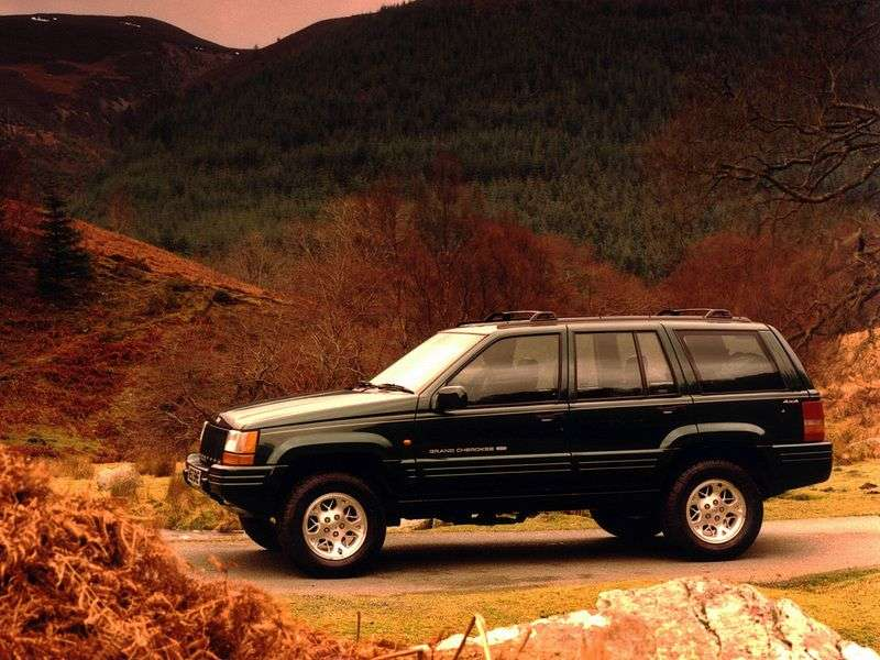 Jeep Grand Cherokee ZJ off road 4.0 AT AWD (1996–1999)