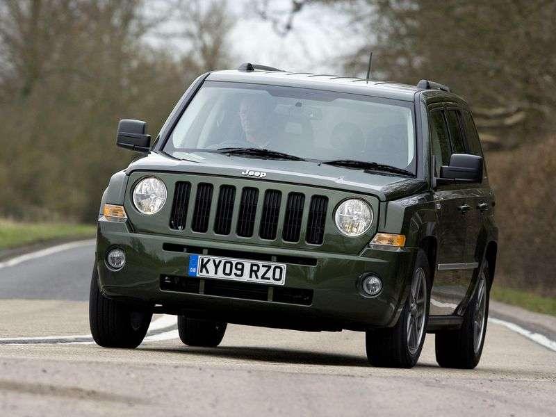 Jeep Patriot 1st generation 2.4 MT crossover (2007 – n.)