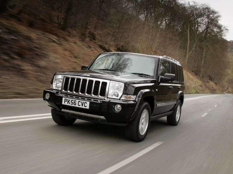Jeep Commander 1st generation SUV 3.7 AT AWD (2006–2010)