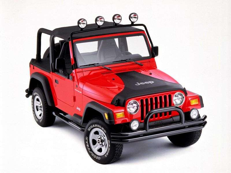 Jeep Wrangler TJcabriolet 2.5 MT (1997–2000)