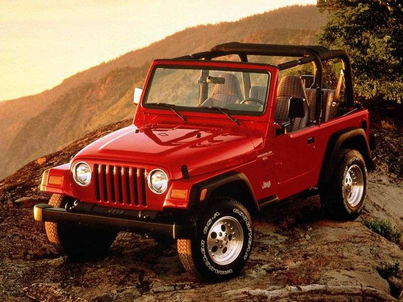 Jeep Wrangler TJcabrio 4.0 MT Rubicon (2003–2006)