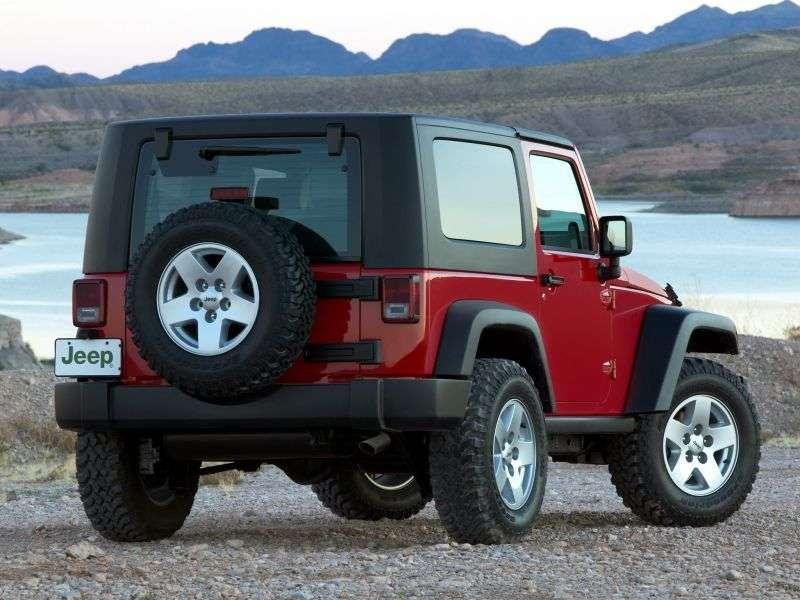Jeep Wrangler JKcrypt 2 dv. 3.8 AT Rubicon (2006–2011)