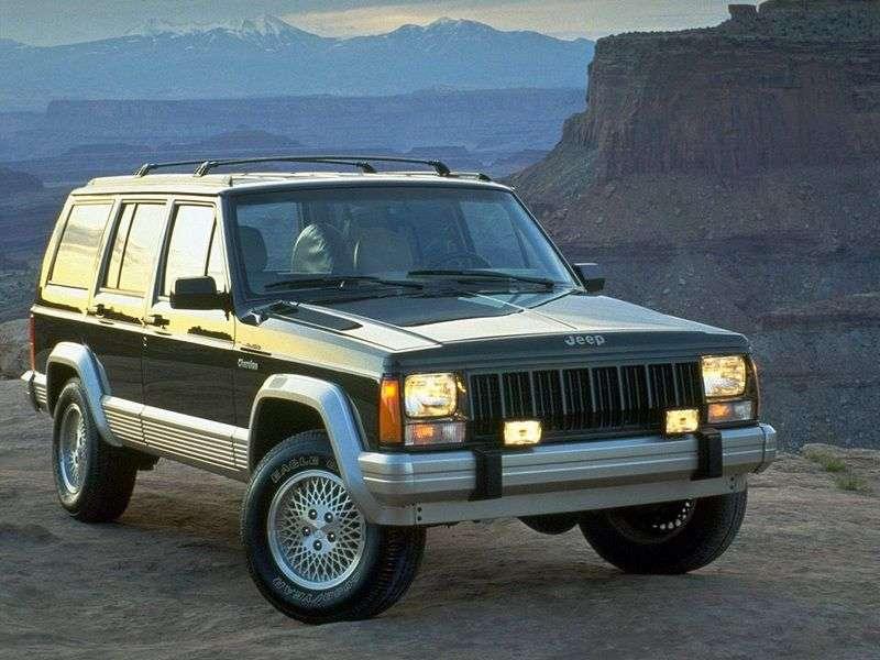Jeep Cherokee XJ 5 door SUV 4.0 AT 4WD (1997–2000)