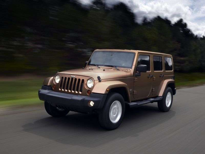 Jeep Wrangler JK [restyling] 4 doors convertible 3.6 AT Rubicon (2012) (2011 – current century.)