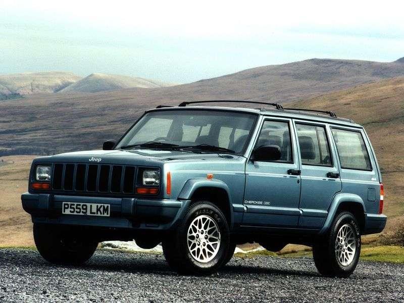 Jeep Cherokee XJ 5 door SUV 2.1 MT TD 4WD (1988–1995)