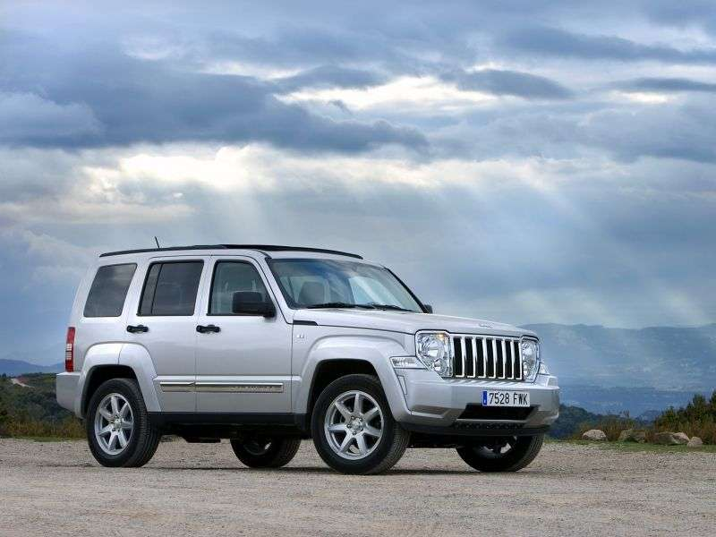 Jeep Cherokee KK SUV 2.8 CRD AT Cherokee Jet (2007 – current century)