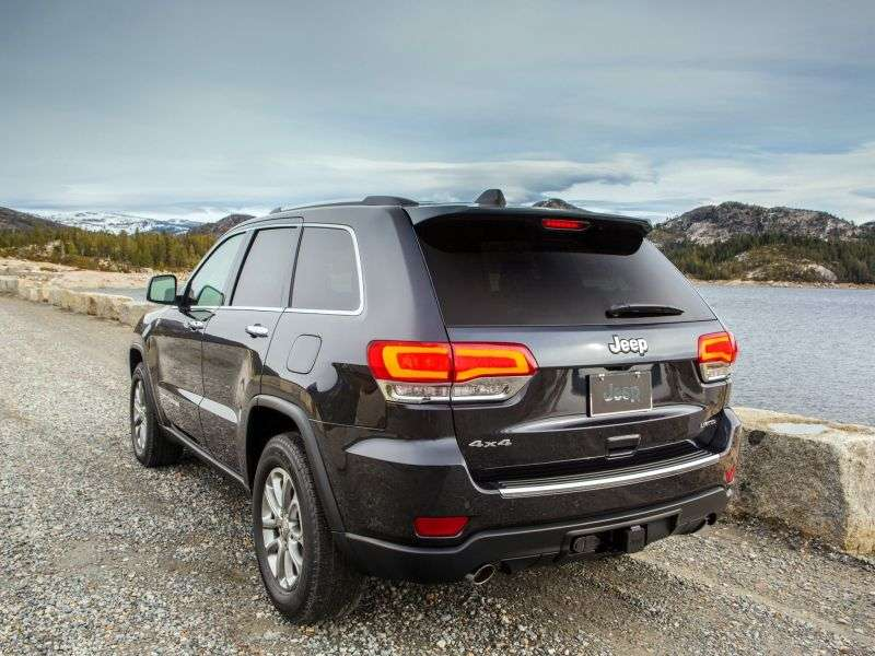 Jeep Grand Cherokee WK2 [restyling] SUV 5 dv. 3.6 AT AWD Overland (2013 – present)