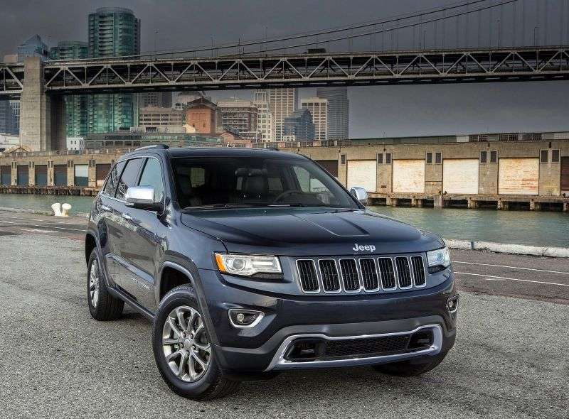 Jeep Grand Cherokee WK2 [restyling] SUV 5 dv. 3.0 TD Multijet II AT AWD Overland (2013 – current century)