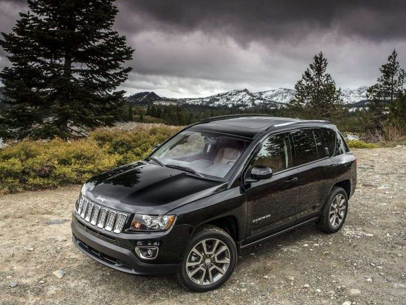 Jeep Compass 1st generation [2nd restyling] 2.4 AT AWD Limited crossover (2013 – v.)