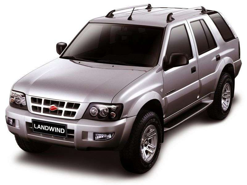 Jiangling X6 1st generation [restyled] SUV 2.8 MT 2WD (2006 – v.)