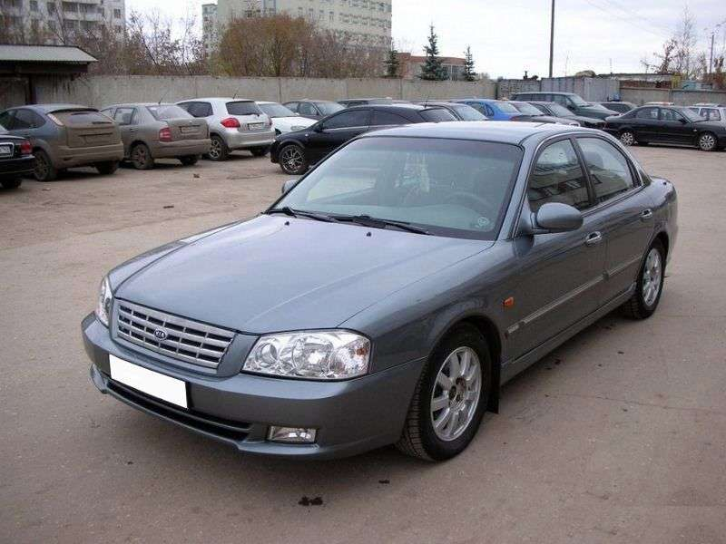 Kia Magentis 1st generation sedan 2.0 AT (2001–2003)