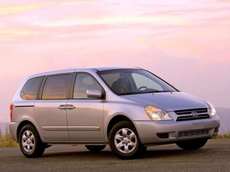 Kia Sedona 2nd generation SWB minivan 3.8 AT (2007–2010)