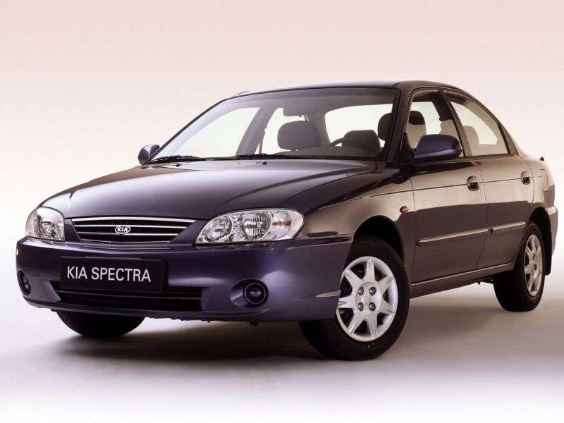 Kia Spectra 1st generation [restyling] 4 door sedan 1.6 AT (2005–2011)